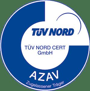 TÜV AZAV Zertifizierung Daniel Graf ISOGRAF