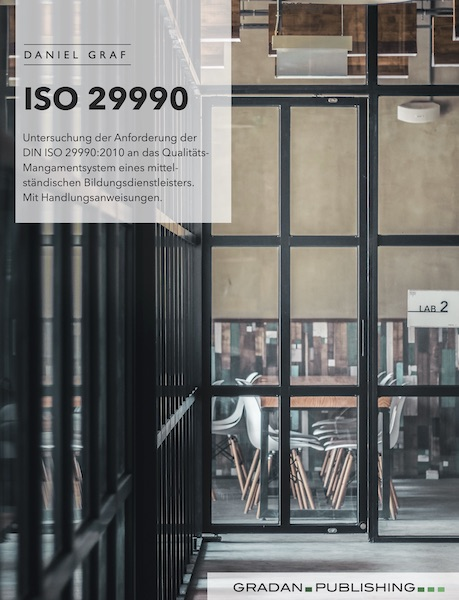 ISO 29990 Zertifizierung | ISOGRAF Daniel Graf eBook